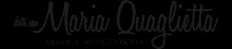 Dott. Maria Quaglietta Biologa Nutrizionista